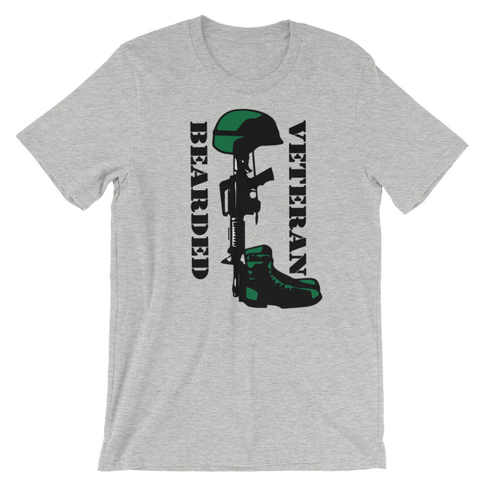 Bearded Veteran Short Sleeve Unisex T-Shirt