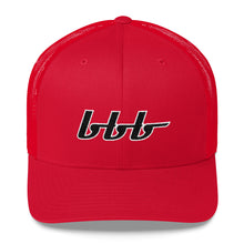 Load image into Gallery viewer, bbb Logo Trucker Cap
