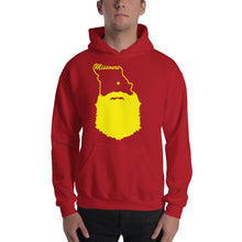 Load image into Gallery viewer, Missouri Bearded Hooded Sweatshirt