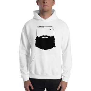 Bearded Kansas Hooded Sweatshirt