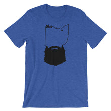 Load image into Gallery viewer, Ohio Bearded Short Sleeve Unisex T-Shirt