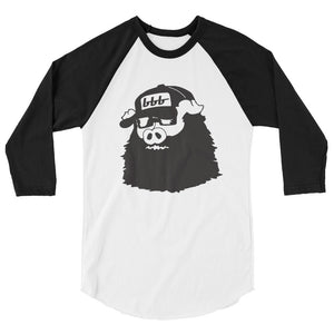 Bearded Hog 3/4 Sleeve Raglan Shirt