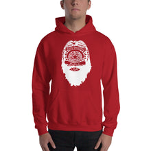 Load image into Gallery viewer, Bearded Police Hooded Sweatshirt (white print)