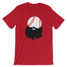 Load image into Gallery viewer, Bearded Baseball Short Sleeve Unisex T-Shirt
