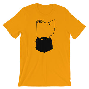 Ohio Bearded Short Sleeve Unisex T-Shirt
