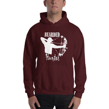 Load image into Gallery viewer, Bearded Hunter Hooded Sweatshirt