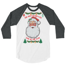 Load image into Gallery viewer, Ugly Christmas 3/4 Sleeve Raglan Shirt