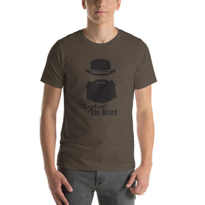Respect The Beard Short Sleeve Unisex T-Shirt