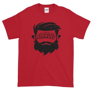 Bearded Face Short Sleeve T-Shirt