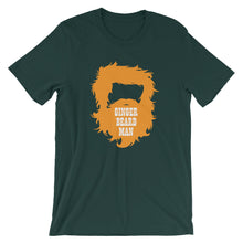 Load image into Gallery viewer, Ginger Beard Man Short Sleeve Unisex T-Shirt