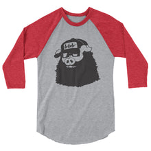 Load image into Gallery viewer, Bearded Hog 3/4 Sleeve Raglan Shirt