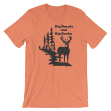 Load image into Gallery viewer, Big Beards and Bucks Short Sleeve Unisex T-Shirt