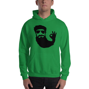 Okay Beard Hooded Sweatshirt