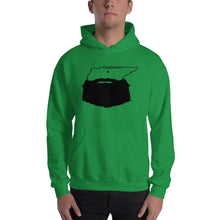 Load image into Gallery viewer, Tennessee Bearded Hooded Sweatshirt