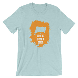 Ginger Beard Man Short Sleeve Unisex T-Shirt