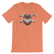 Load image into Gallery viewer, Bearded Halloween Short Sleeve Unisex T-Shirt