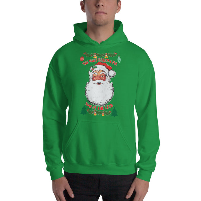 Ugly Bearded Christmas Hooded Sweatshirt