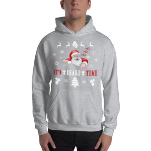 It's Beard Time Hooded Sweatshirt
