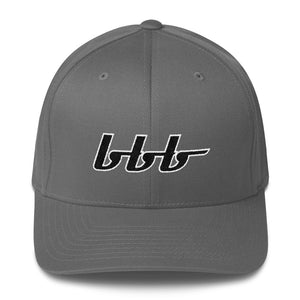 bbb Logo Structured Twill Cap