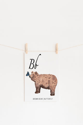 B is for Brown Bear