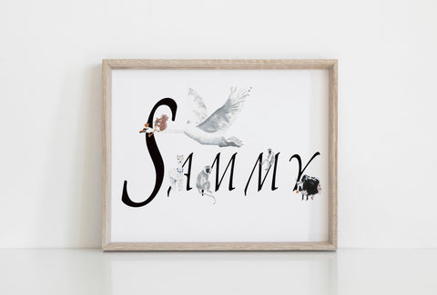 Personalised Name Artwork