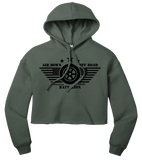Belle Battalion Cropped Hoodie