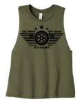 Belle Battalion Cropped Tank