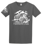 Home Is Where The Pavement Ends T-Shirt