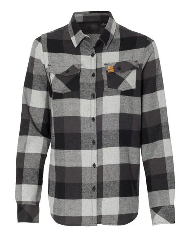 LL Ladies Flannel (Black/Grey)