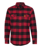 LL Flannel Red/Black