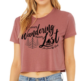 Forever Wandering Cropped T