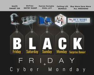Black Friday thru Cyber Monday