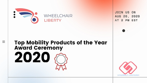 Wheelchair Liberty Top Mobility Products of the Year Award Ceremony