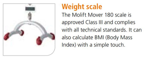 Molift Mover 180 - Electric Powered Mobile Patient Lift by ETAC - Wheelchair Liberty