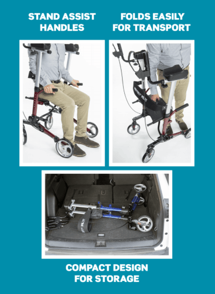 Features - Protekt® Pilot Upright Walker by Proactive Medical - Wheelchair Liberty