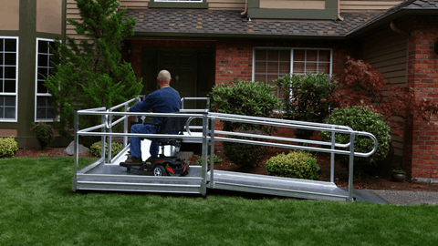 Infinite Configurations - PATHWAY® 3G Modular Access System Solo Kits Wheelchair Ramp by EZ-ACCESS® | Wheelchair Liberty