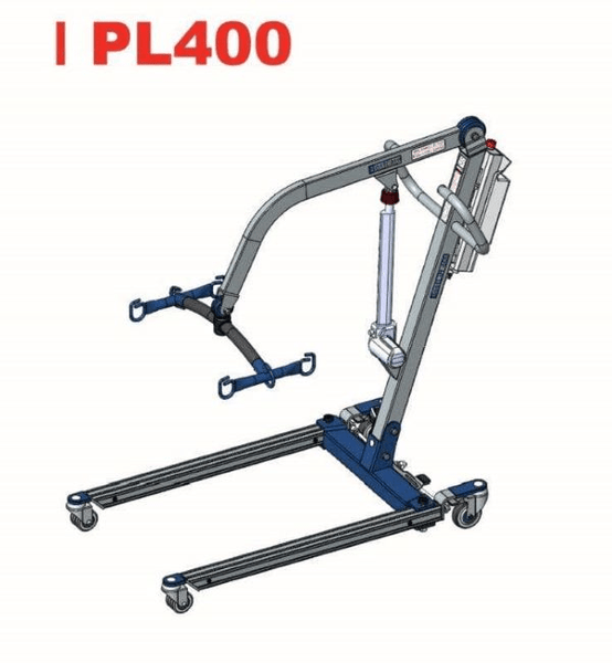 Illustration - The BestLift™ PL400 Full Body Electric Patient Lift by Best Care LLC   Wheelchair Liberty