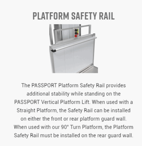 PASSPORT® Vertical Platform Lifts by EZ-ACCESS® | Wheelchair Liberty