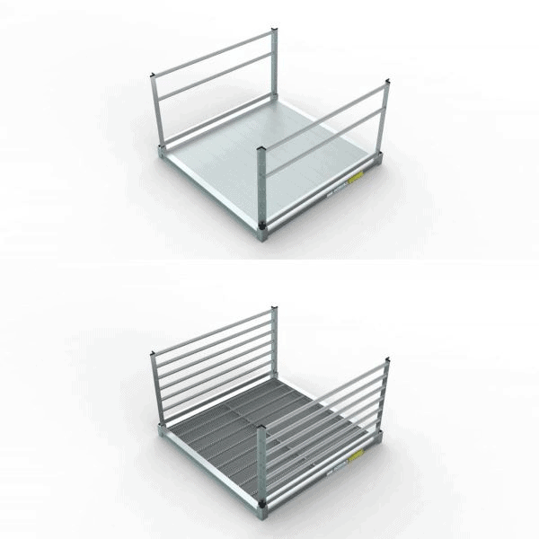 SUPERIOR SURFACE OPTIONS - PATHWAY® 3G Modular Access System Solo Kits Wheelchair Ramp by EZ-ACCESS® | Wheelchair Liberty