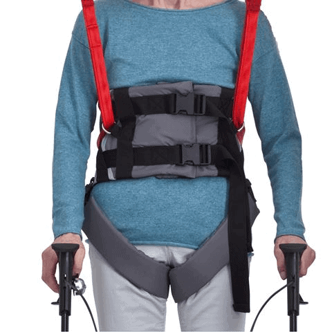 Sling Support For User With  Walker - Molift Rgo Sling Ambulating Vest - Patient Sling for Molift Lifts by ETAC | Wheelchair Liberty