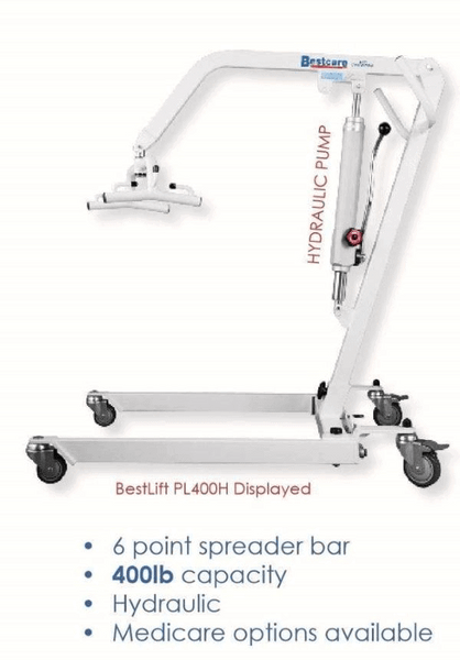 Specifications - The BestLift™ PL400HE| ELECTRIC PATIENT LIFT by Best Care LLC | Wheelchair Liberty