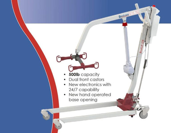 Specifications - The BestLift™ PL228 | FULL BODY ELECTRIC PATIENT LIFT Best Care LLC | Wheelchair Liberty
