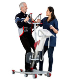 Front View for N29000 Molift Quick Raiser 205 Sit to stand assist patient lift by ETAC from Wheelchair Liberty