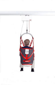 Back View - Molift RgoSling Mediumback Net - Patient Sling for Molift Patient Lifts by ETAC | Wheelchair Liberty