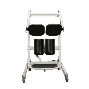 BAse Legs Closed and Seat Pad - Protekt® Dash - Standing Transfer Aid - 32500 - By Proactive Medical | Wheelchair Liberty