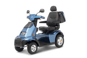 Blue - Afiscooter S4 4-Wheel Electric Scooter By Afikim | Wheelchair Liberty