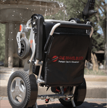 Folded Outdoor - CITY Electric Wheelchair By Travel Buggy | Wheelchair Liberty