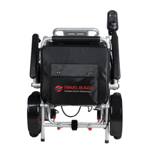 Folded Rear View - CITY Electric Wheelchair By Travel Buggy | Wheelchair Liberty