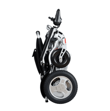 Folded Side View - CITY Electric Wheelchair By Travel Buggy | Wheelchair Liberty