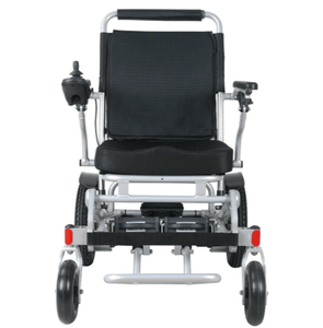 Front View - CITY Electric Wheelchair By Travel Buggy | Wheelchair Liberty